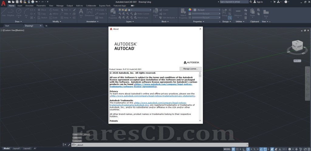 برنامج أوتوكاد 2021   Autodesk AUTOCAD v2021