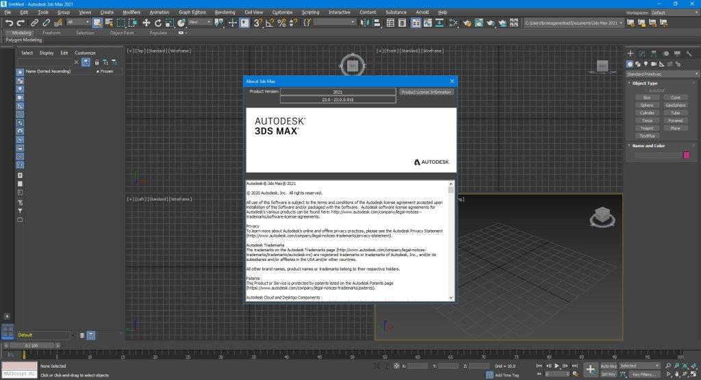 برنامج ثرى دى ماكس 2021 | Autodesk 3ds Max 2021