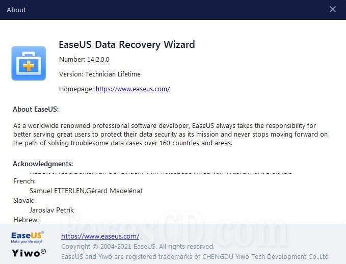 برنامج استعادة الملفات المحذوفة | EaseUS Data Recovery Wizard Technician
