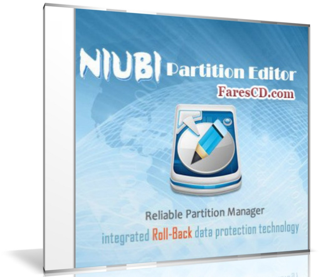 اسطوانة برنامج التقسيم السحرى | NIUBI Partition Editor Technician Edition Boot ISO