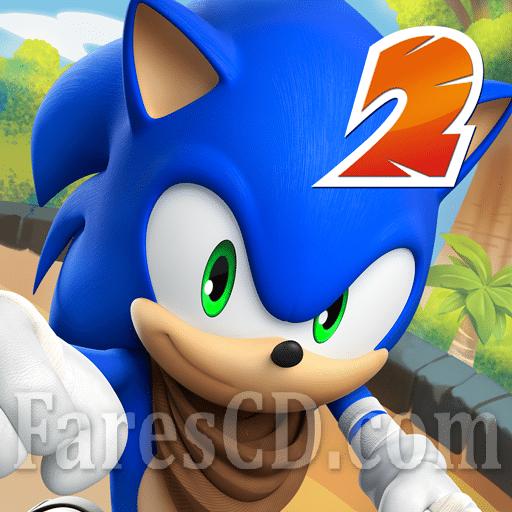 أشهر العاب التسلية للاندرويد | Sonic Dash 2 Sonic Boom MOD
