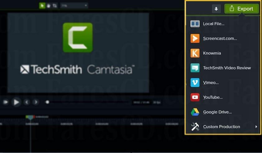 برنامج المونتاج و تصوير الشاشة وعمل الشروحات | TechSmith Camtasia v2020