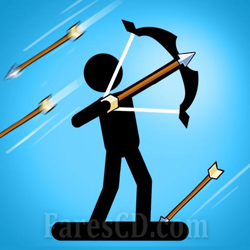 لعبة القوس والسهم   The Archers 2 MOD   للأندرويد