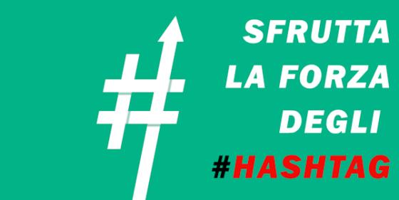 Consigli sull'utilizzo degli hashtag