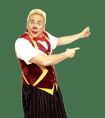 Clown Don Cristian du cirque bouglione