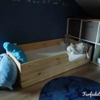 Le lit au sol pour bébé, inspiration Montessori
