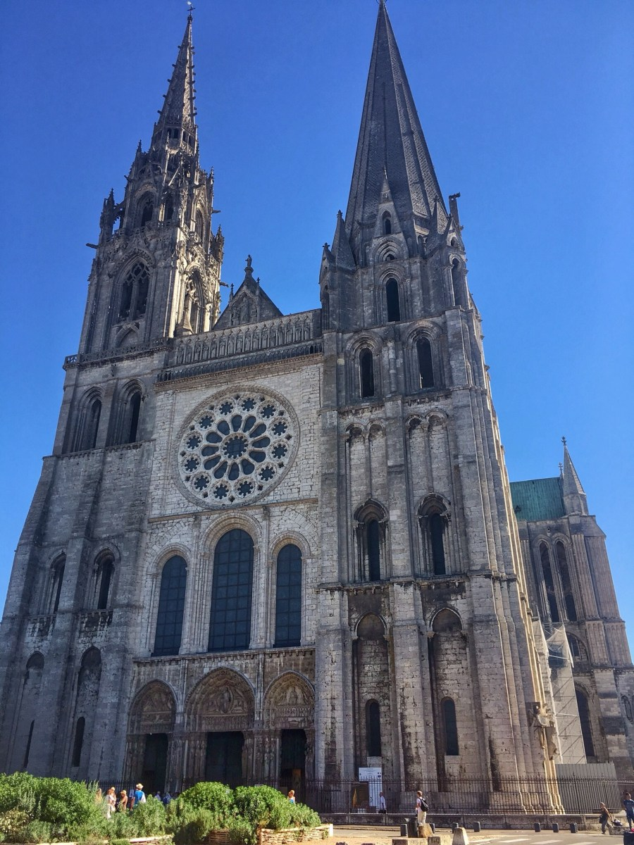 Chartres Cathedral, beautiful Gothic with beautiful music
