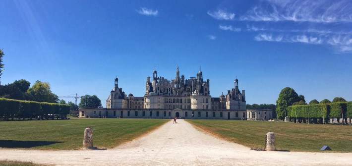 Château de Chambord, a king Francis' affair, with Da Vinci and Polish heaters involved