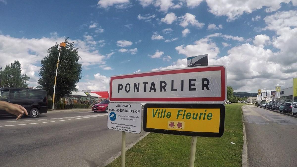 Entrance to Pontarlier