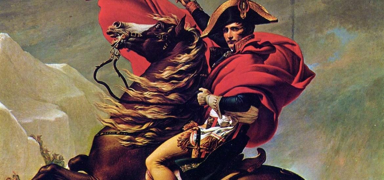 Napoleon Crossing the Alps - Charlottenburg Version