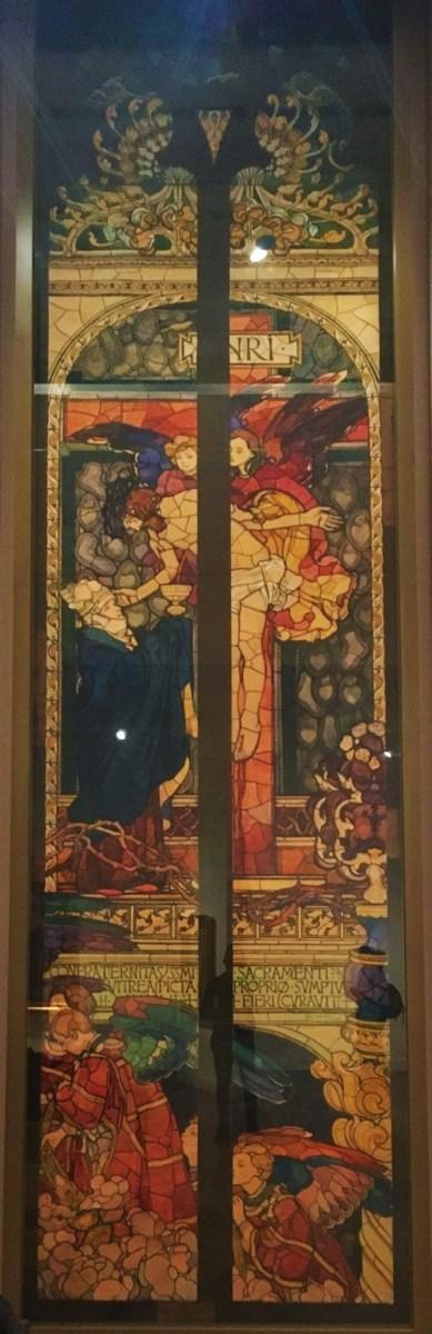 Józef Mehoffer - Friburg's Sketches Stain-glass windows Jesus