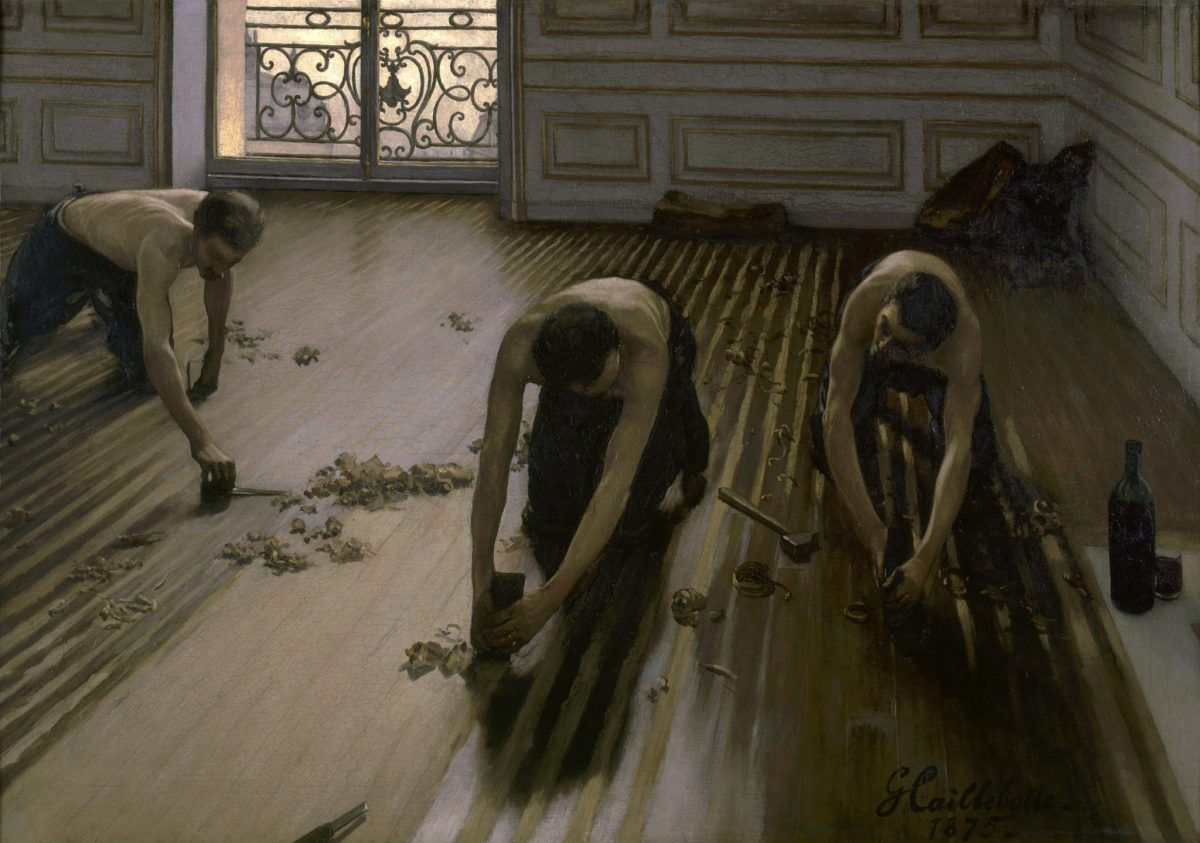 Gustave Caillebotte: Parquet Planers, 1875