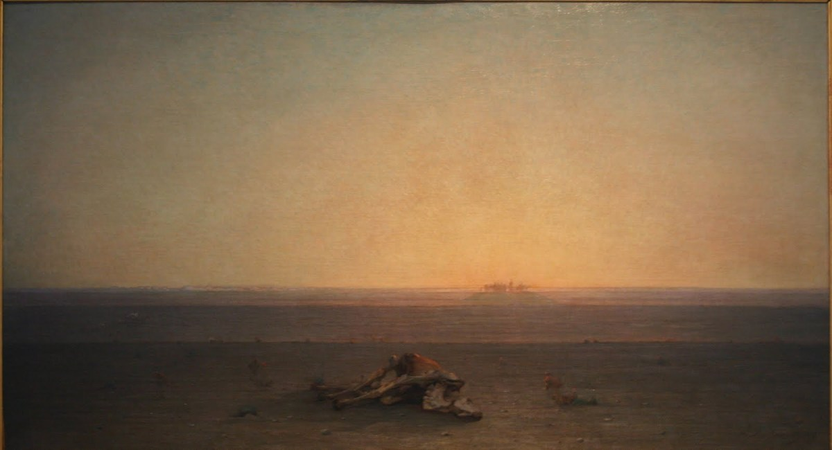 Gustave Guillaument: The Sahara, 1867