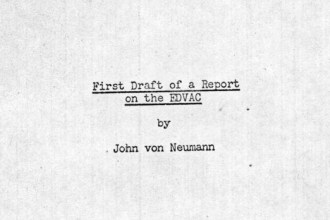 First Draft of a Report on the EDVAC - Von Neumann