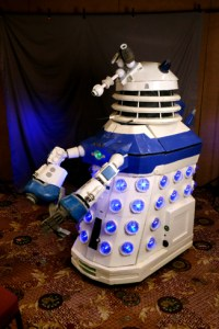 Chief Science Dalek Yettral by Lenny Grindler