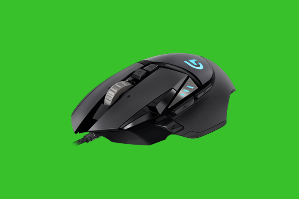 gaming mouse with side buttons