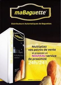 A slot machine for baguettes? Only in France!