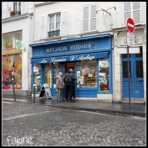 Award-winning baguettes in Montmartre