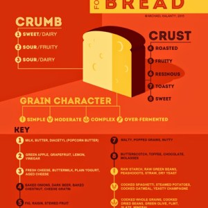 Aroma and Flavor Notes for Bread by Michael Kalanty