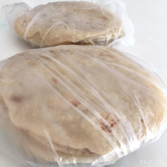 Bags of tortillas