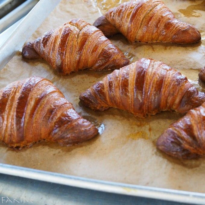 Whole-grain croissants