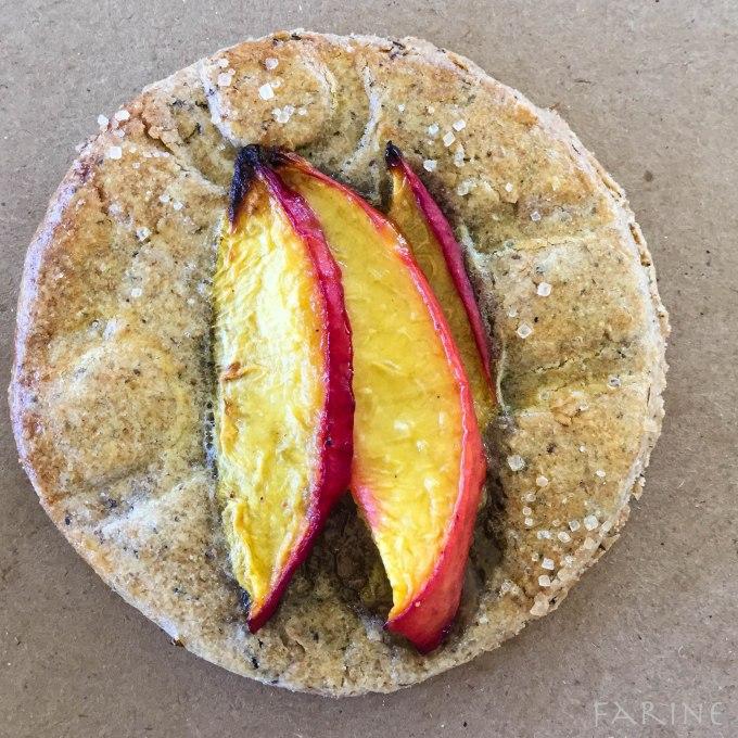 peach pastry