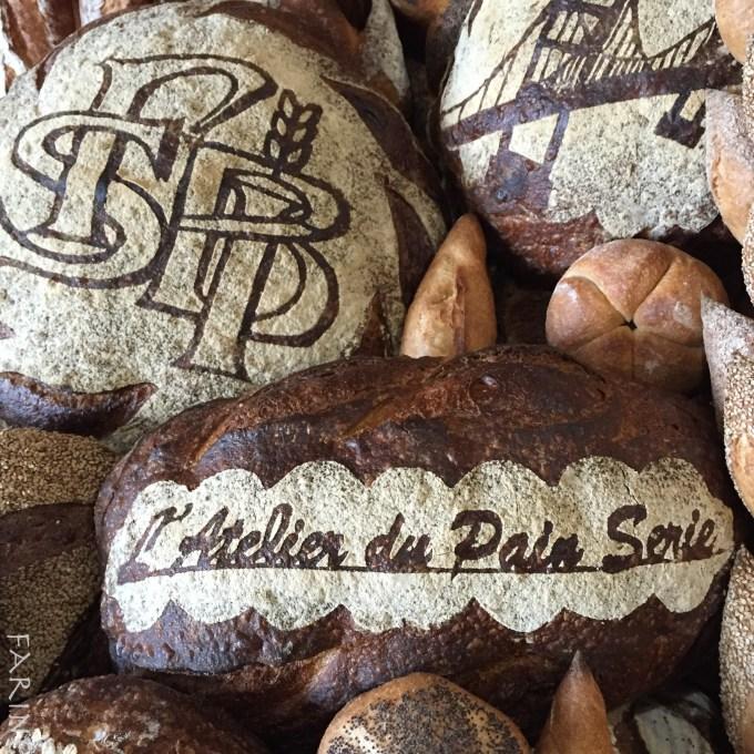 Atelier du pain - stencil