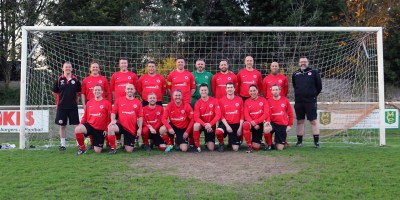 Faringdon Town FC Veterans 2018, team photo