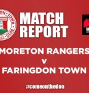 Match Report – Moreton Rangers v Faringdon Town FC
