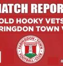 Match Report – 31/10/2018 – Old Hooky Vets v Faringdon Town Vets