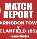 Match Report – Faringdon Town v Clanfield (85) FC