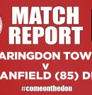 Match Report 05/10/2019 – Faringdon Town v Clanfield (85) Development