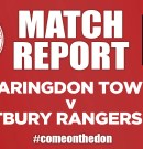 Match Report 16/11/19 – Faringdon Town v Kintbury Rangers Reserves