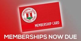 Membership Fees Due