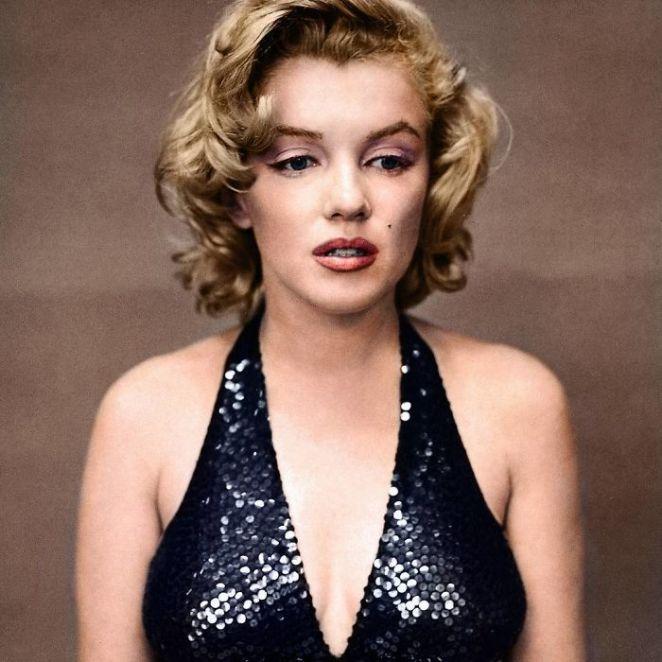 Marilyn Monroe Fotoğraf Renklendirme