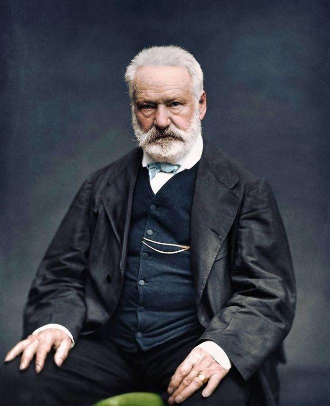 Victor Hugo Fotoğraf Renklendirme