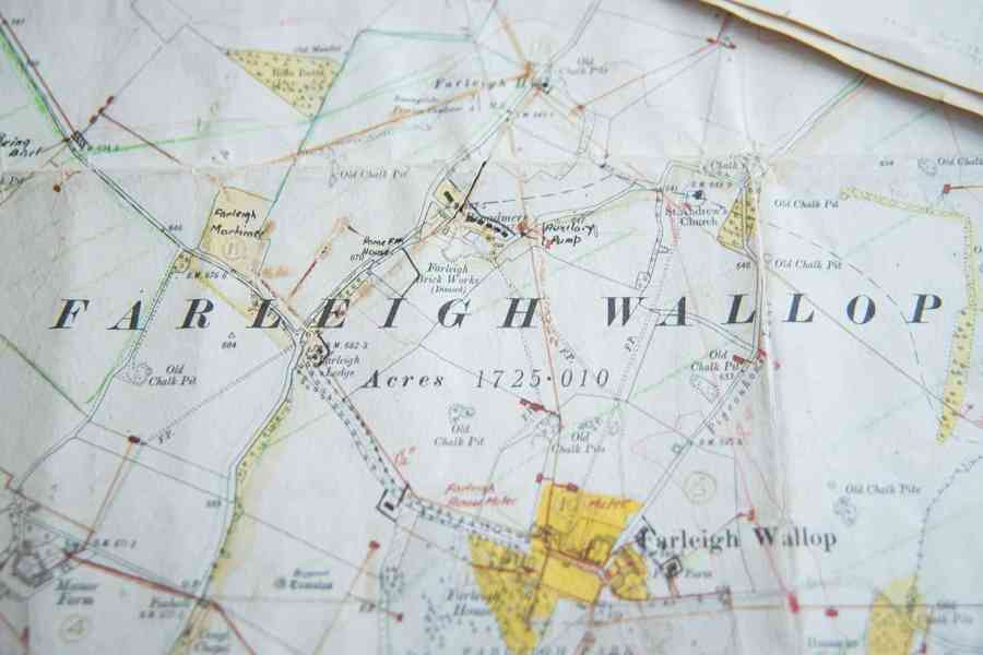 farleigh wallop estate map