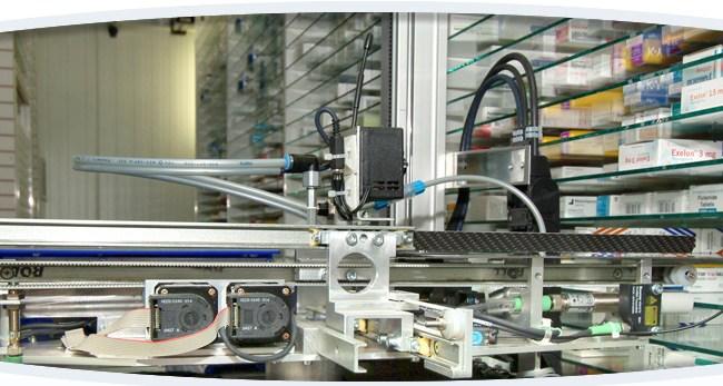 robot in farmacia bresciani
