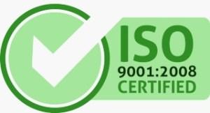 Logo certificazione ISO 9001:2008 della farmacia