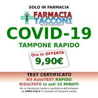 RIBASSO: 🆕 TEST 🧬 COVID-19 🧪 TAMPONE RAPIDO ora a soli => 9,90€