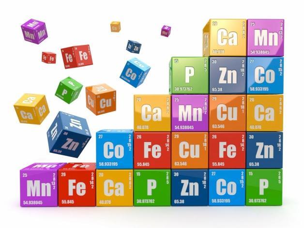 Tabla de oligoelementos funciones toxicidad y alimentos tabla peridica de los elementos urtaz Image collections