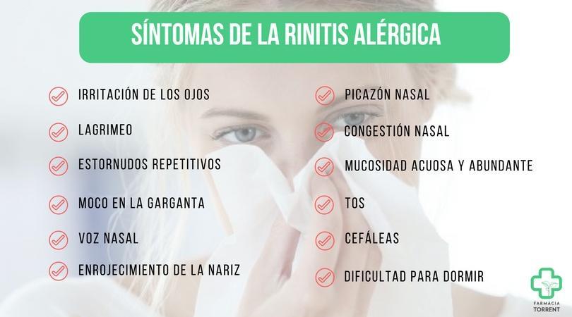 Que es bueno para la rinitis alergica en bebes