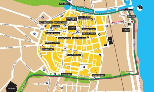 La consegna a domicilio gratuita è attiva nel centro storico di Rimini (e vie adiacenti)