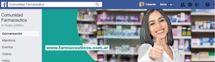 grupos de facebook de farmcia