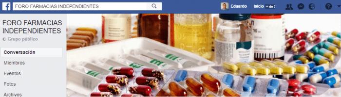 grupos facebook de farmacia