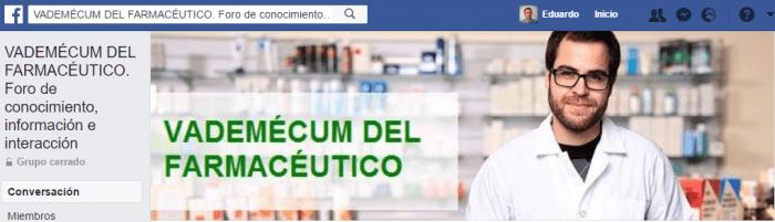 grupo de facebook de farmacia