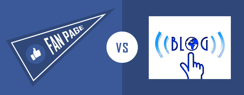 blog vs fanpage