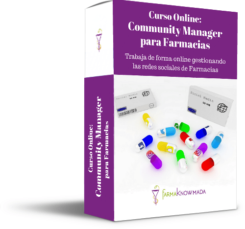 community manager farmacia curso online