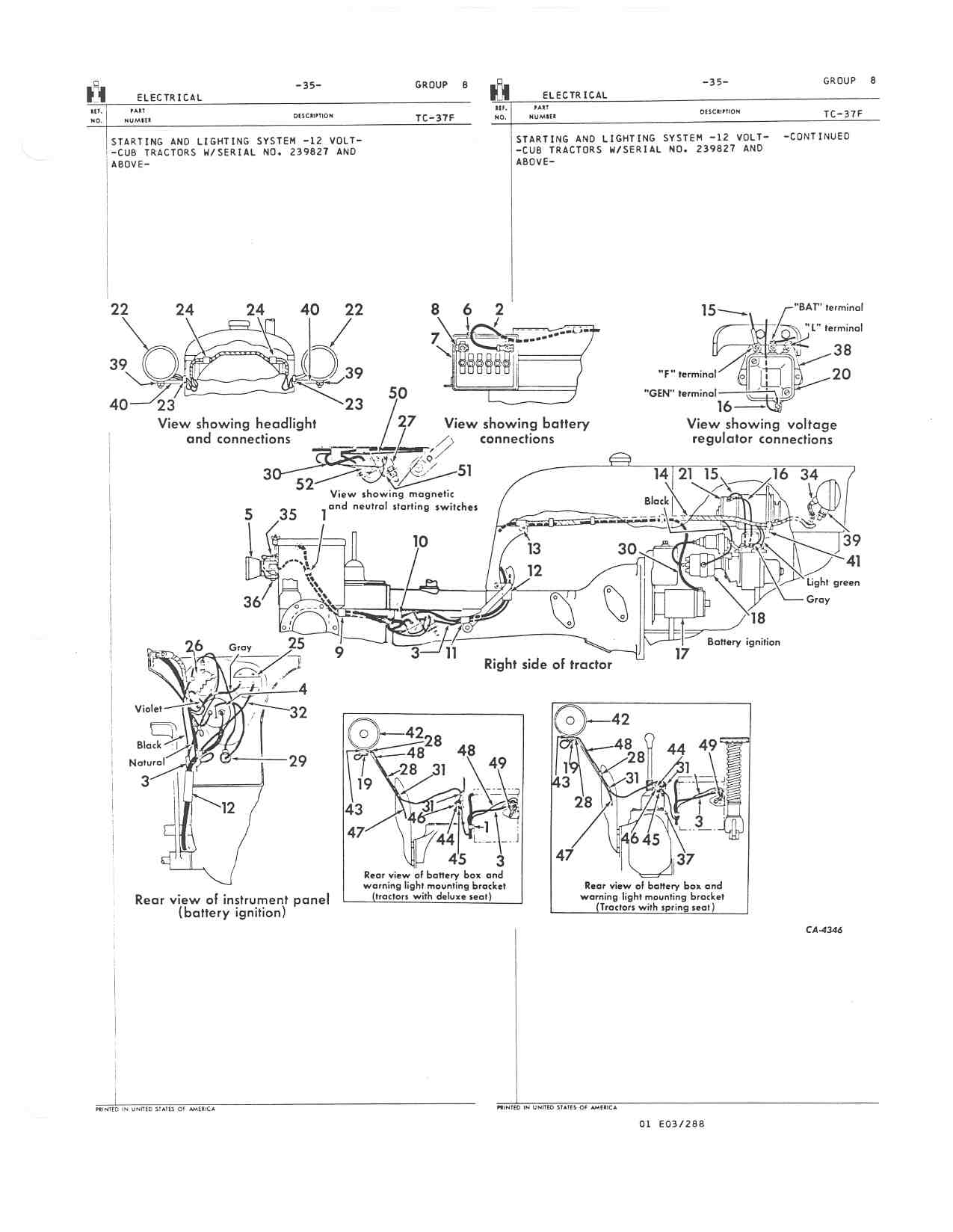 international 140 parts diagram wiring diagram structure Farmall H Wiring Diagram Conversion