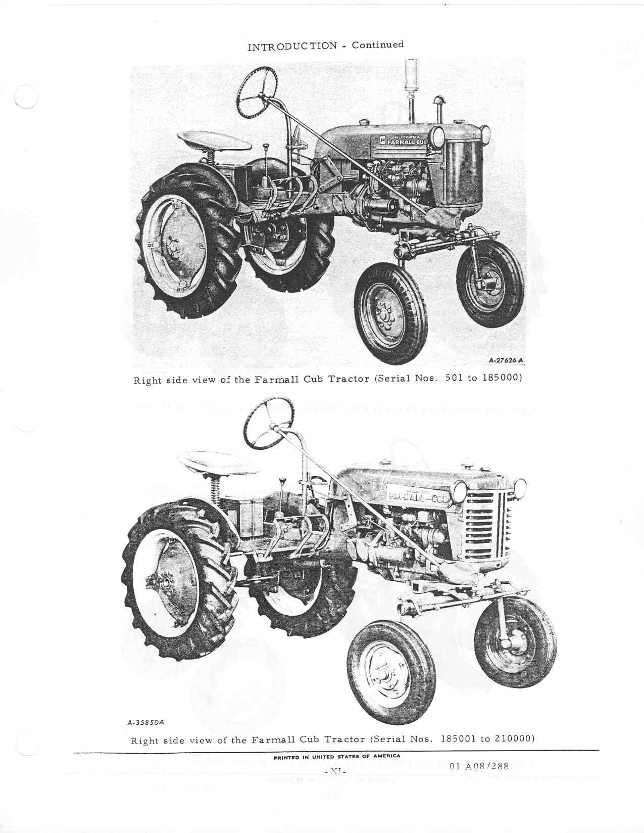Finding The Year Of My Tractor